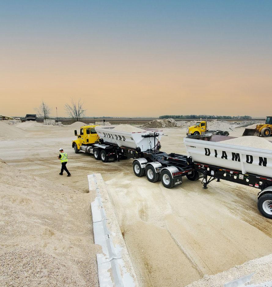 Gravel Dump Trucks
